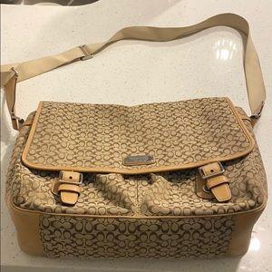 Coach laptop bag / briefcase